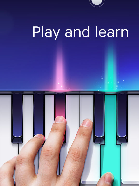 Free Piano app by Yokee screenshot
