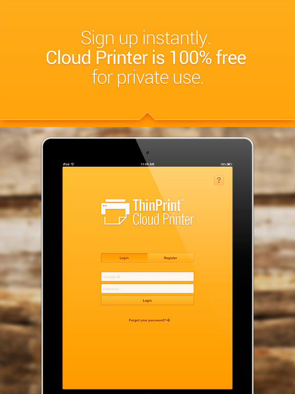ThinPrint Cloud Printer – Print directly via WiFi / WLAN or via cloud to any printer Скриншоты7
