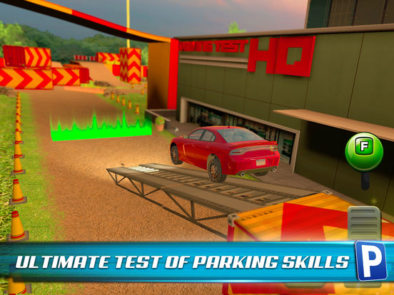 Obstacle Course Extreme Car Parking Simulator screenshot 8