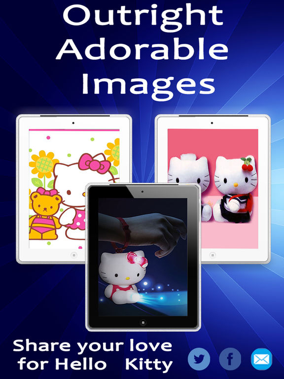 Hello Kitty HD Wallpapers Latest Collection Screenshots