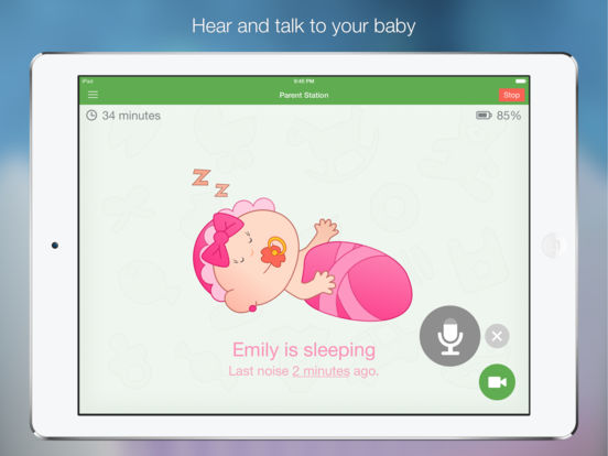baby monitor 3g on the app store. Black Bedroom Furniture Sets. Home Design Ideas