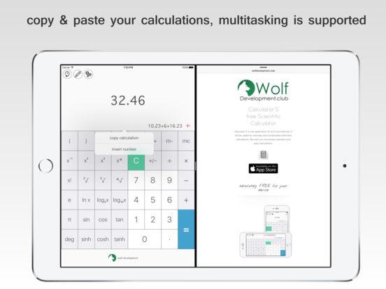 Калькулятор S - бесплатный инженерный калькулятор Скриншоты8