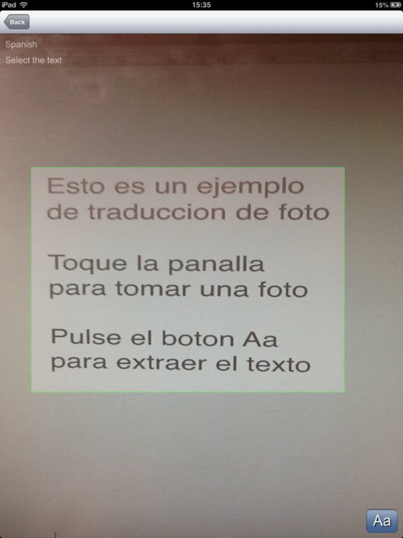 Es-It Offline Photo Translator and Dictionary with Voice - translate text and pictures without internet between Spanish and Ital Screenshots
