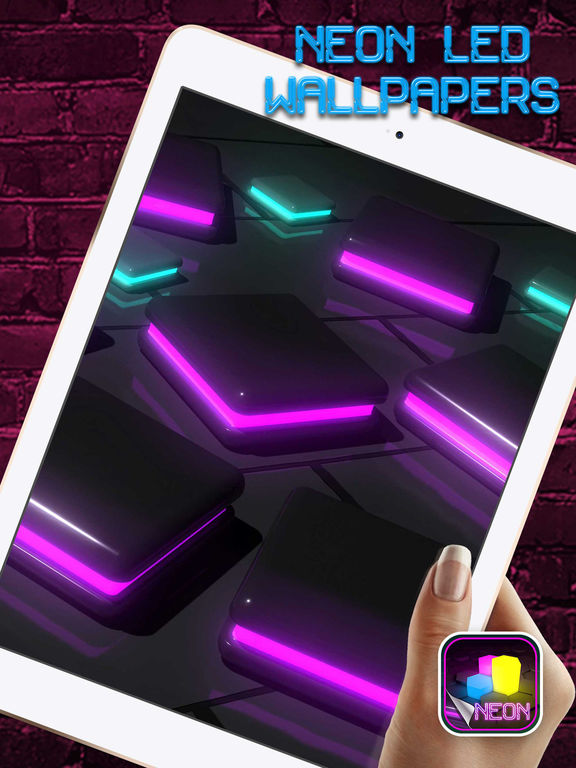 App Shopper: Neon LED Wallpapers – Glow.ing Color ...