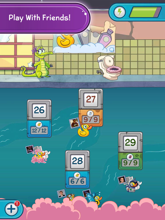 Screenshots of Where's My Water? 2 for iPad
