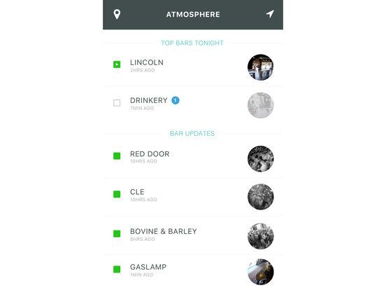 Atmosphere - Bring The Bar Scene To You screenshot