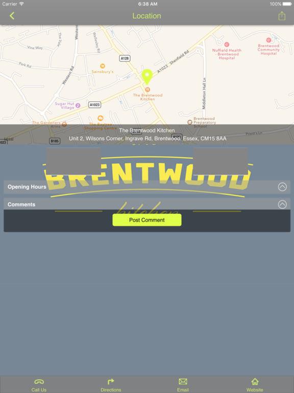 App shopper the brentwood kitchen food drink for M kitchen harbison sc menu