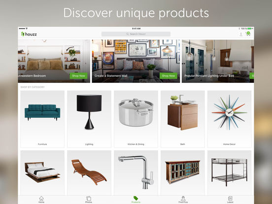 Houzz Interior Design Ideas iPad Screenshot 4