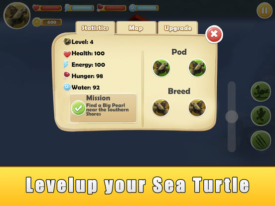 Скачать игру Sea Turtle Simulator 3D Full - Ocean Adventure