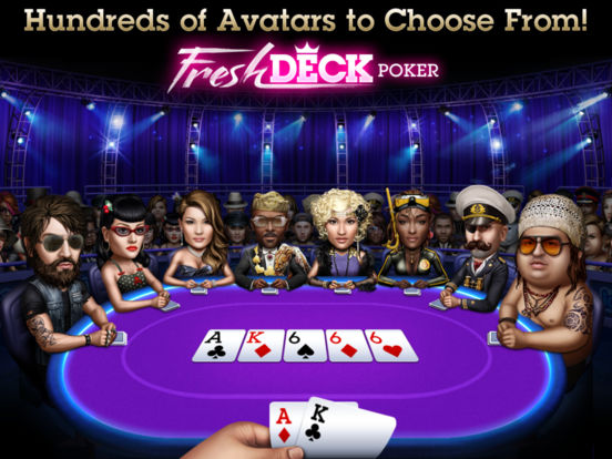 Poker - Fresh Deck Poker Free Holdem screenshot