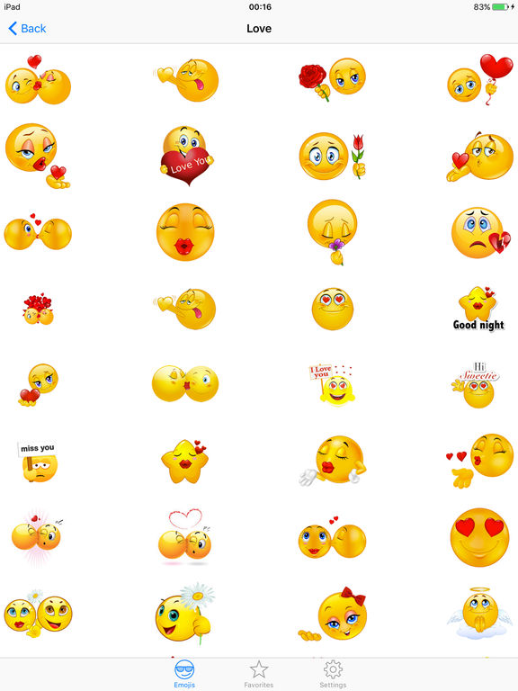 ... Adult Emojis Emoticon Icons - Free Smiley Faces Keyboard Funny  Sticker.s for Texting screenshot ...