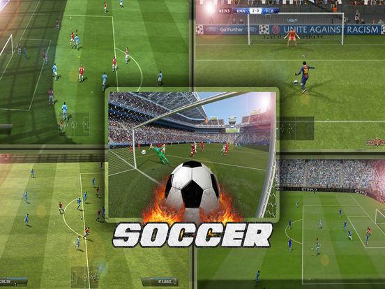 Футбол чемпионов Звезды Скриншоты7