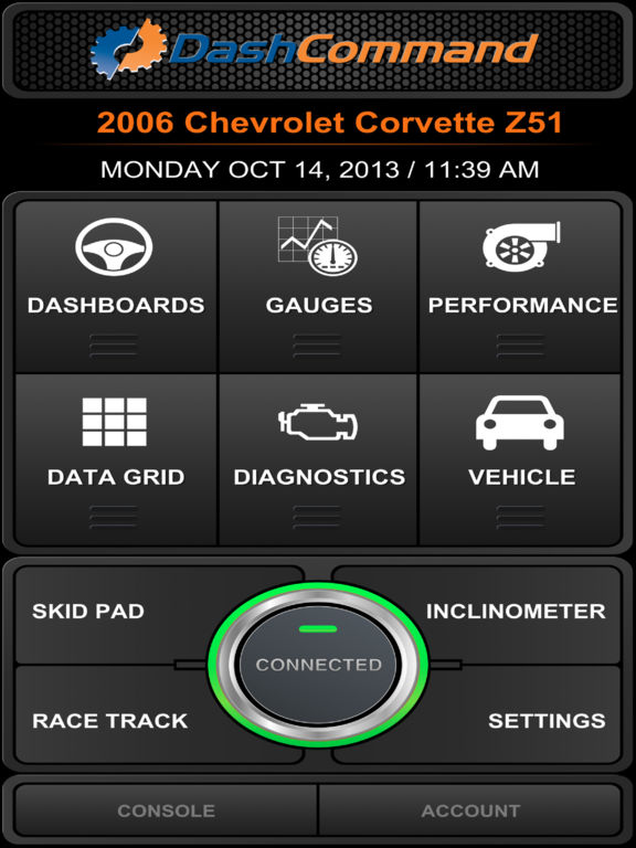 DashCommand - OBD-II gauge dashboards, scan tool Screenshots