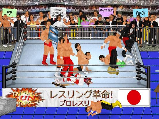 Wrestling Revolution HD для iPad