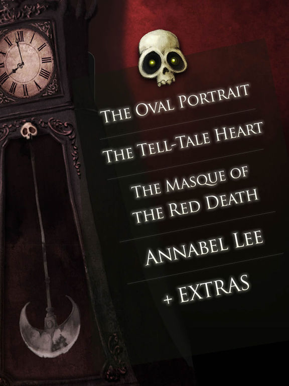 Screenshot #5 for iPoe 1 - Edgar Allan Poe Immersive Stories