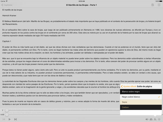 El Martillo de las Brujas (Malleus Maleficarum) iPad Screenshot 1