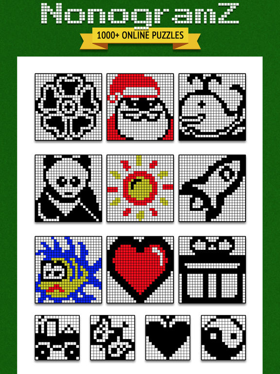 NonogramZ: 1000+ pic-a-pix & pictogram puzzles Screenshots