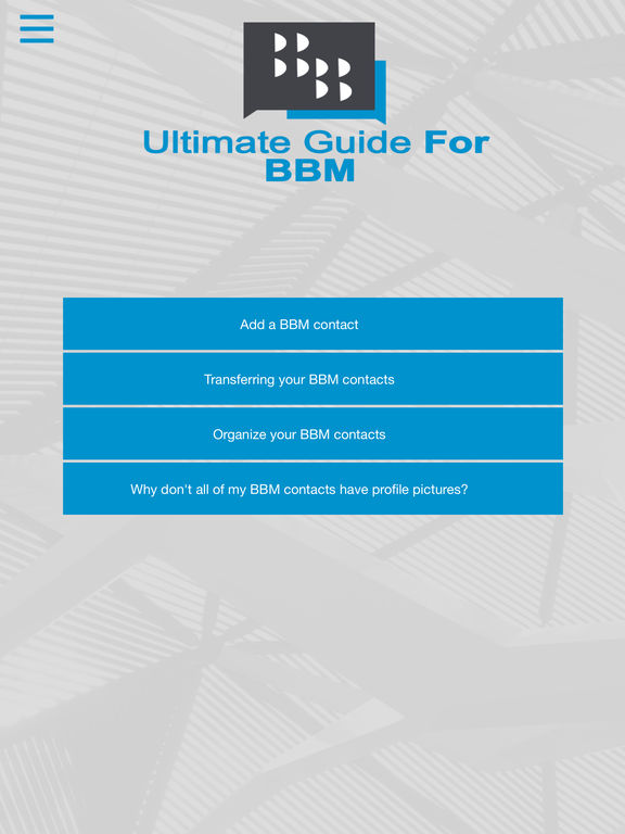 App Shopper: Ultimate Guide For BBM (Reference)