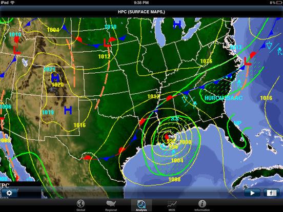 WeatherGeek Pro iPad Screenshot 2