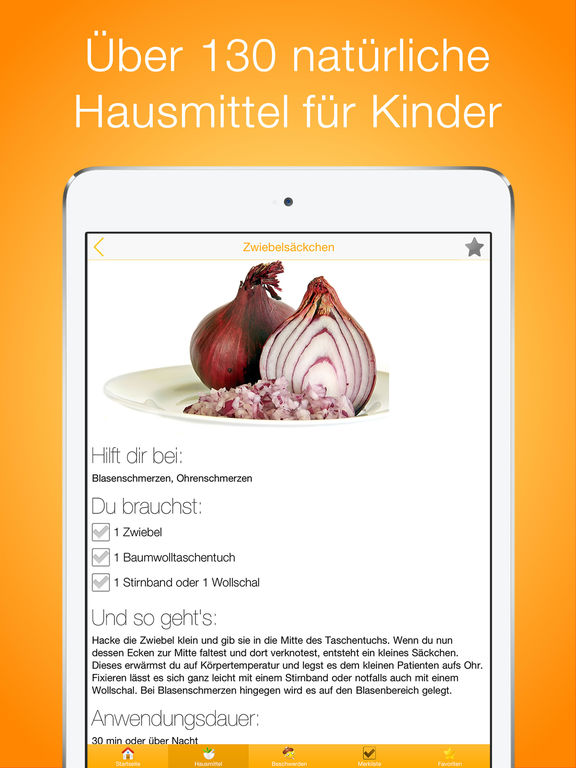 Hausmittel für Kinder PRO Screenshots