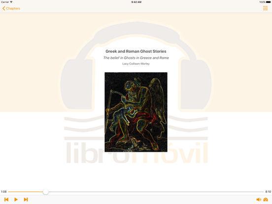 Greek and Roman Ghost Stories - AudioBook iPad Screenshot 1