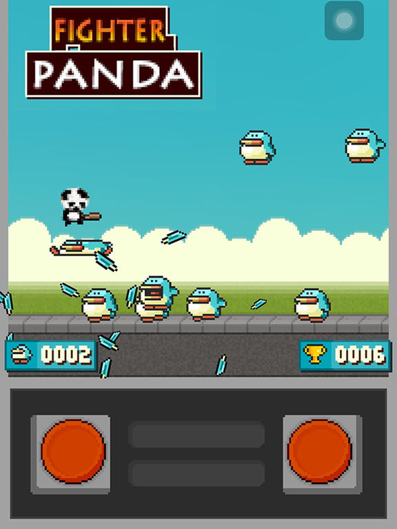 Fighter Panda ( Free 3D Angry Kung fu Panda Shooting Cartoon Game ) Screenshots
