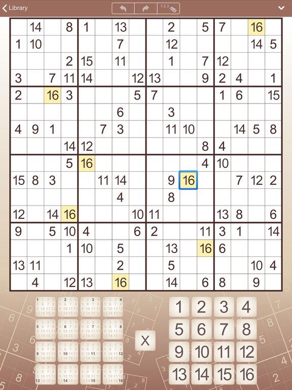 Conceptis Sudoku для iPad