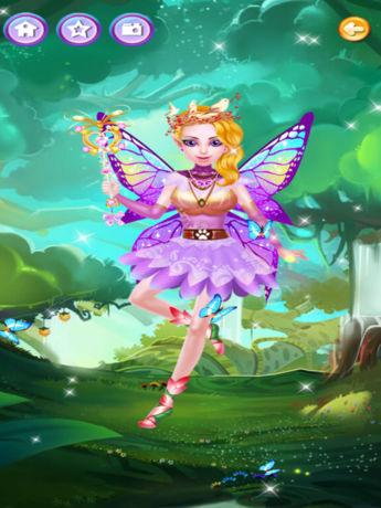 仙女时尚装扮沙龙 - 魔幻森林可爱小精灵公主换装化妆游戏
