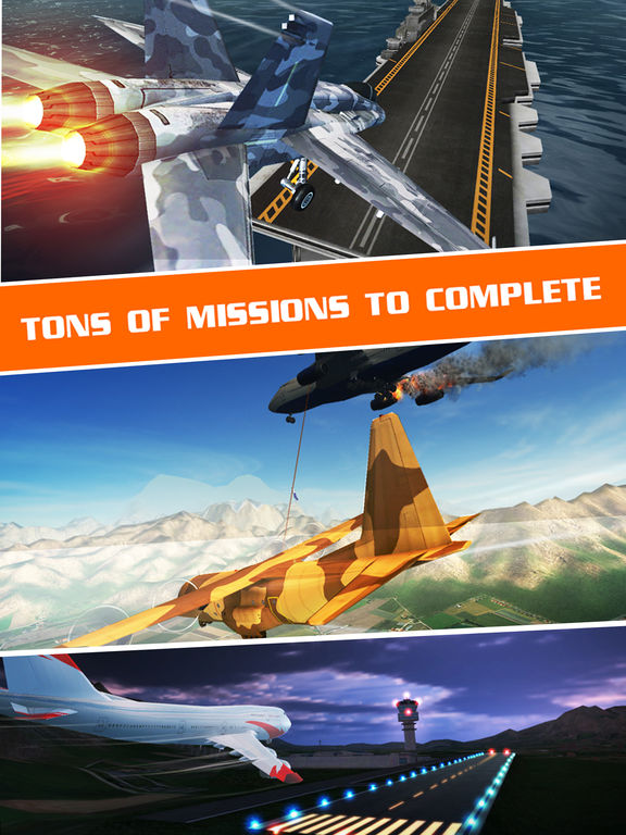 Flight Pilot Simulator 3D by Fun Games For Free screenshot