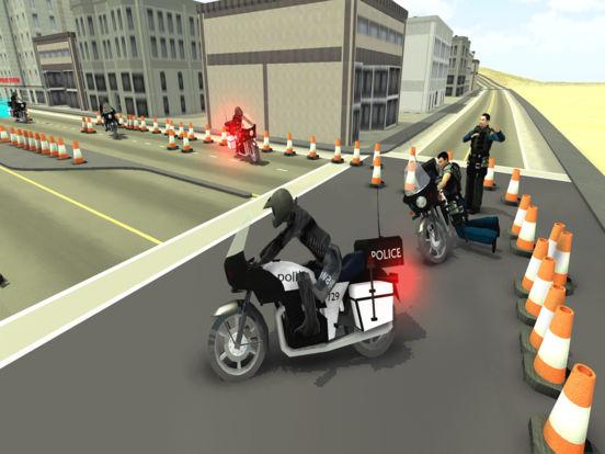 Игра Police Motorcycle Training : 911 School Academy