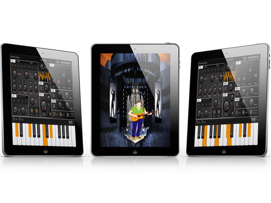 Digital Piano Sound Synthesizer: Advance Midi  Melody Full-Features iPad App Screenshots