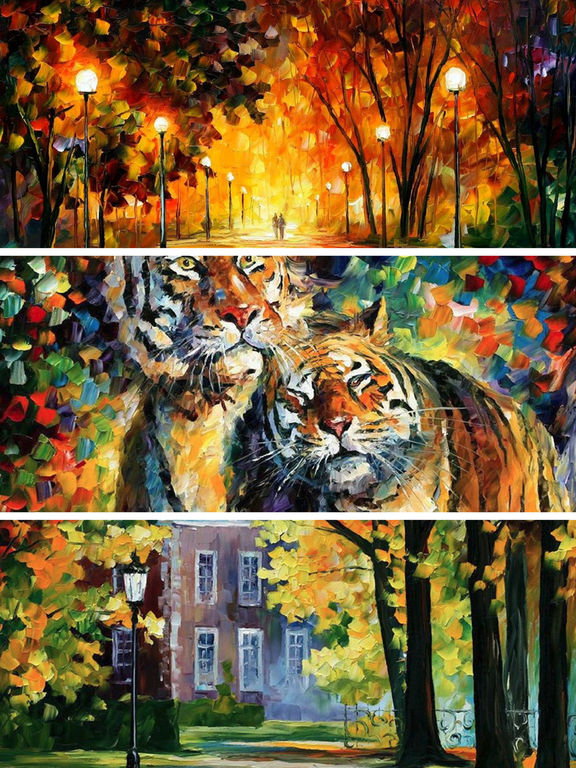 App Shopper Oil Paintings Wallpapers HD Landscape Sketches