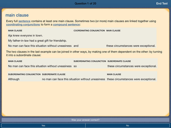Oxford A-Z of Grammar and Punctuation 2nd edition iPad Screenshot 3