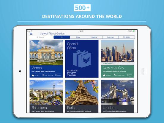 Bern City tripwolf Travel Guide iPad Screenshot 5