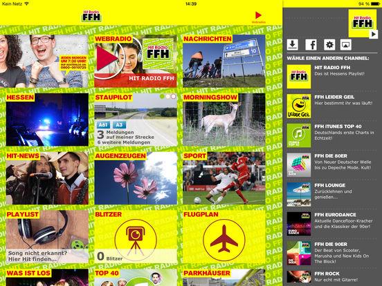 HIT RADIO FFH 2.0 iPad Screenshot 2