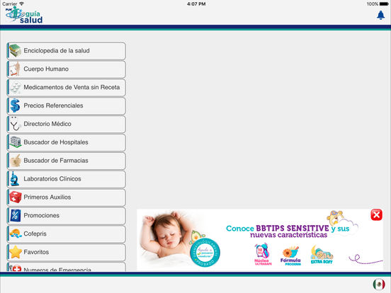 App Shopper: Guía Salud for iPad (Medical)