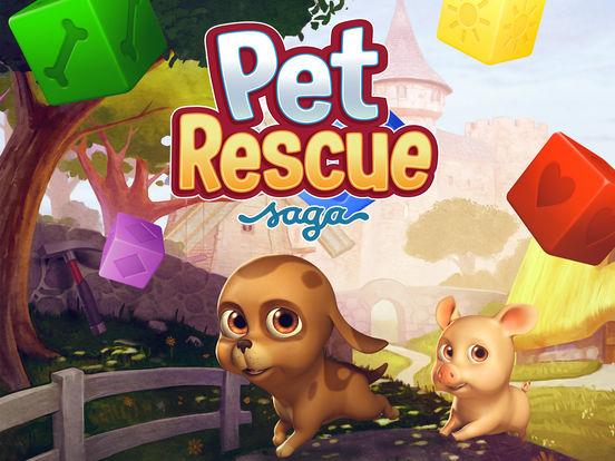 Screenshots of Pet Rescue Saga for iPad