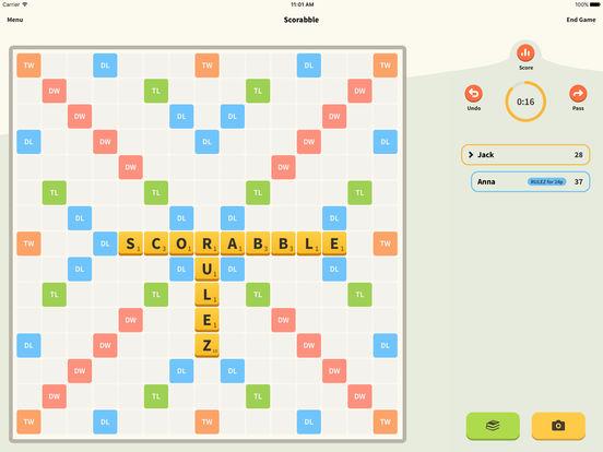 Scorabble - Utility for SCRABBLE® players screenshot