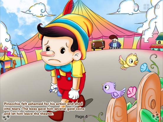 iBigToy-Pinocchio's Daring Journey HD Lite iPad Screenshot 3