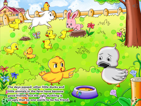 iBigToy-The Ugly Duckling HD iPad Screenshot 4