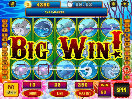 App shopper slots adventure of big shark fish vegas for Big fish casino real money
