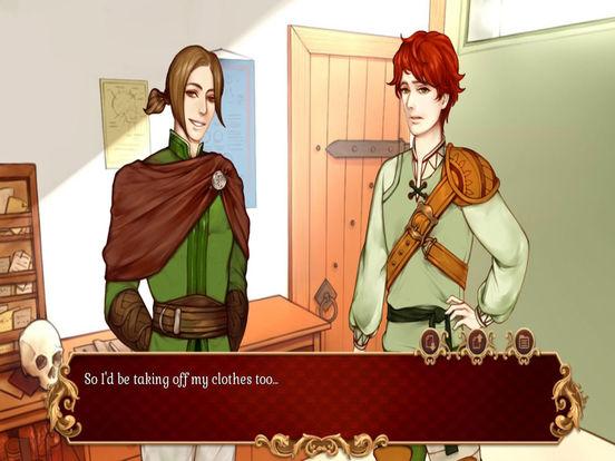 Heirs and Graces Visual Novel для iPad