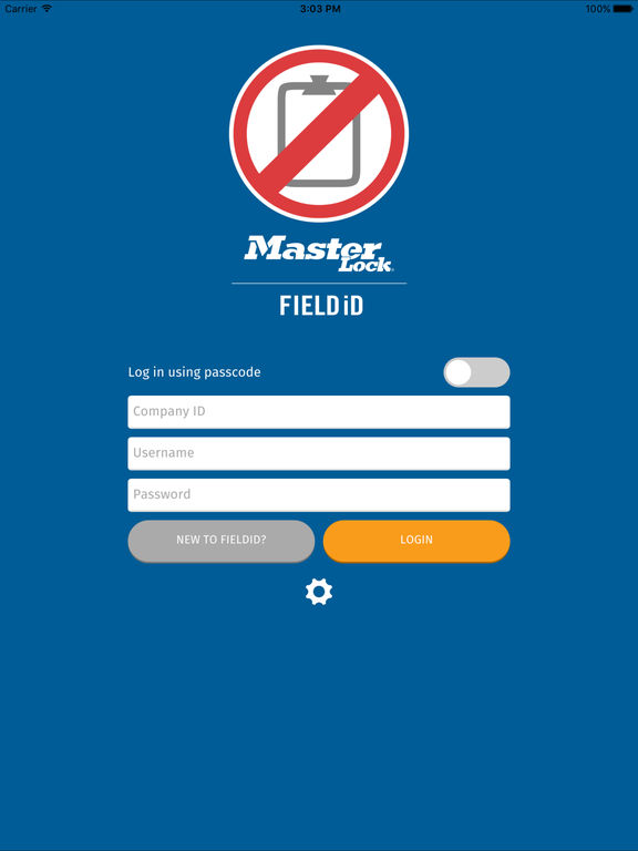 Master Lock Field iD screenshot