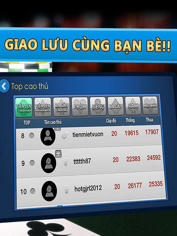 Beme - Game đánh bài online  Game bài Tiến Lên VIPscreeshot 4