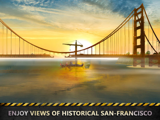 San Francisco Brigde Crane Builder Sim Full Screenshots