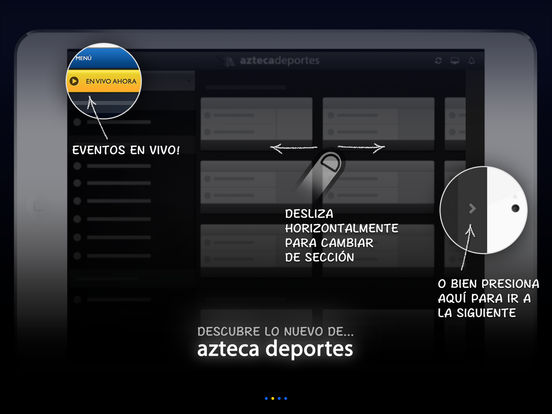 Azteca Deportes iPad Screenshot 2
