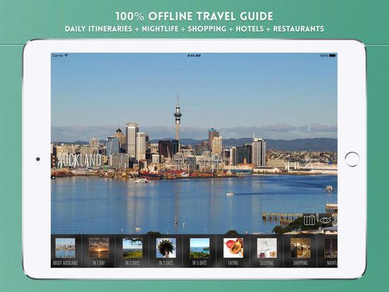 Auckland Travel Guide iPad Screenshot 1