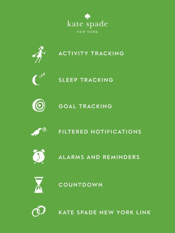 kate spade activity tracker instructions