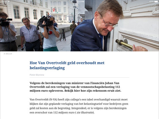 De Tijd iPad Screenshot 4