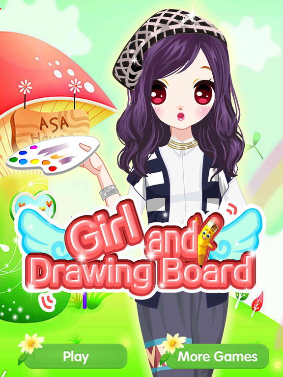 App shopper girl and drawing board fashion princess beauty salon game games Fashion style and beauty games